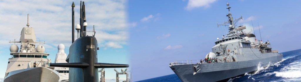 eiettori ad aria per navi militari